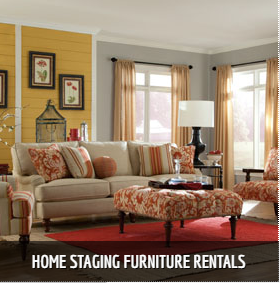 Charlotte Home Staging Furniture Rentals