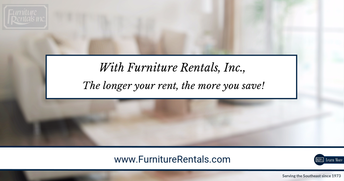 Furniture Rental Discounts - Free Delivery