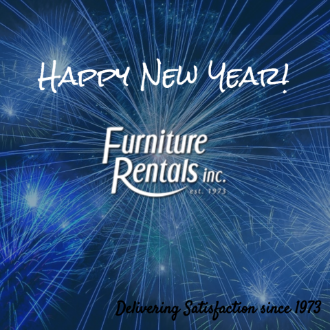 Happy New Year from Furniture Rentals, Inc.!