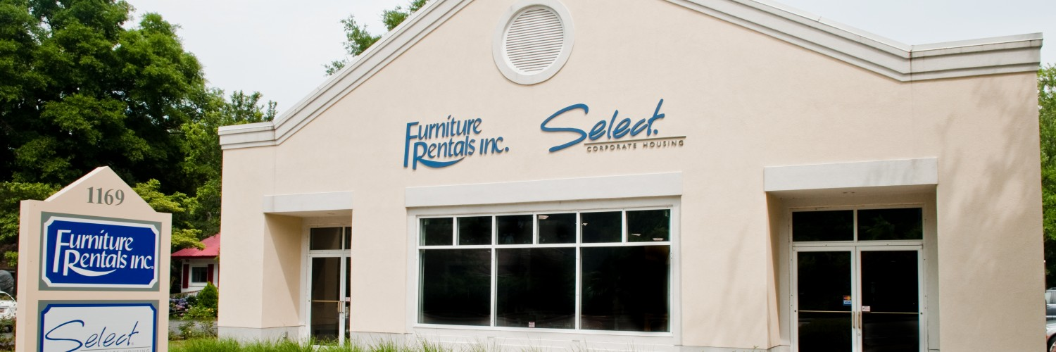 Mt Pleasant SC Furniture Rentals Showroom