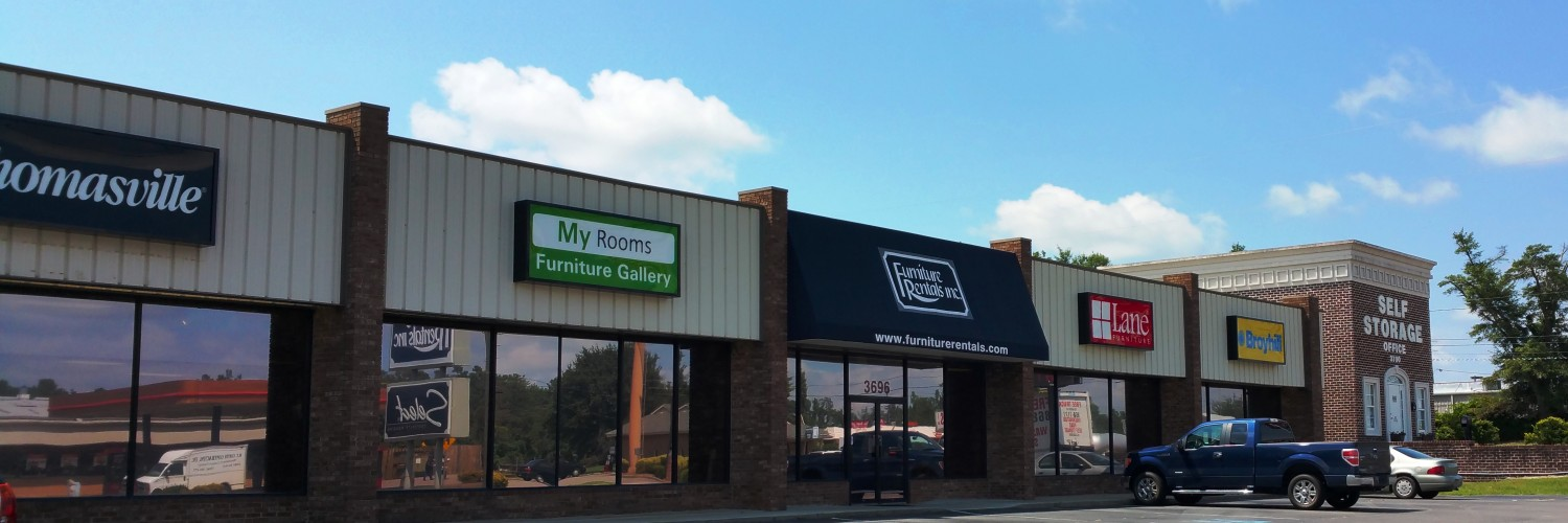 Martinez GA Furniture Rentals Showroom