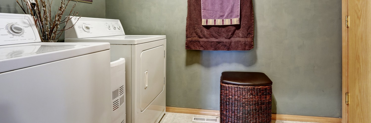 Fully Equipped Apartment Laundry Rooms