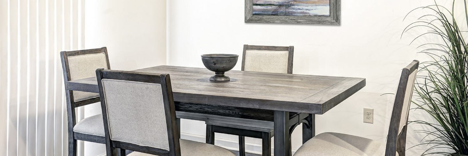 Harbor Lane Package Dining Room - Furniture Rentals, Inc.