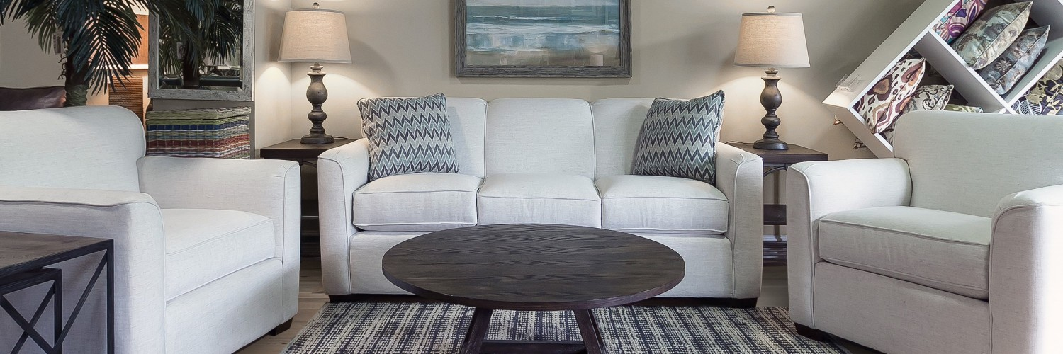 Living Room Furniture from Harbor Lane Package - Furniture Rentals, Inc.