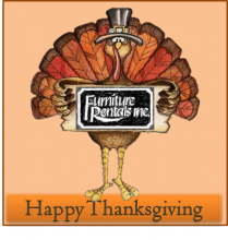 Thanksgiving and Black Friday - Furniture Rentals
