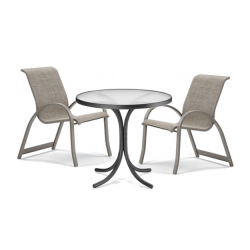 Patio Table and Sling Chair
