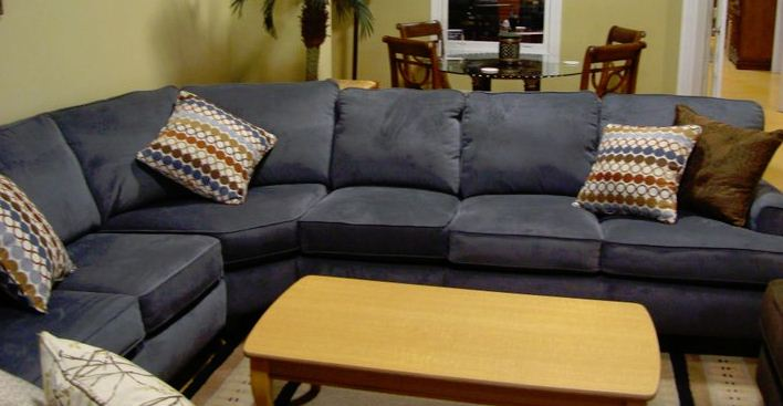 Sofa Sectional Rental for Orangeburg Home Staging